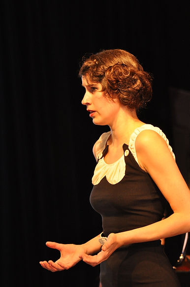 Raphaela Stürmer, Chanson-Sängerin Karlsruhe