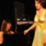 Raphaela Stürmer, Tatiana Rostovtseva Chanson, Gesang und Klavier Karlsruhe