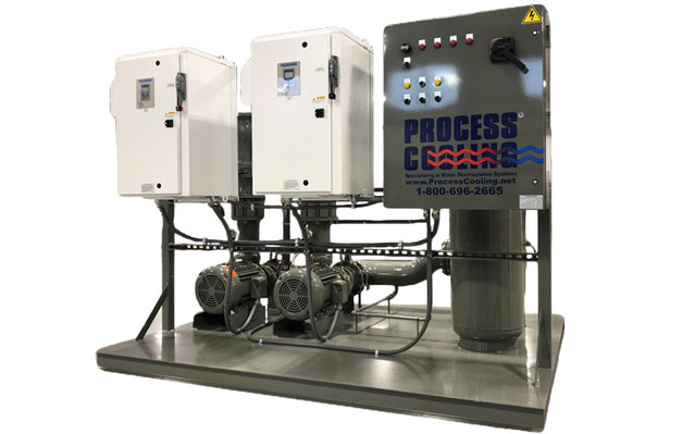 Process Cooling Outdoor Pump Skid