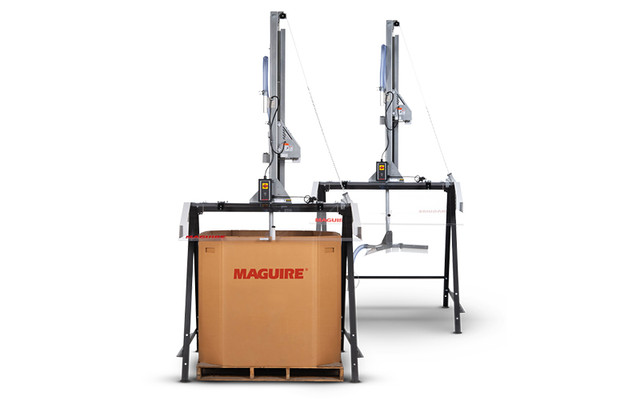 Maguire Sweeper Unloading Systems
