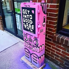 HAHAxParadigm South Street Electrical Box Project