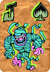 Halloween Character from Flick Game Design