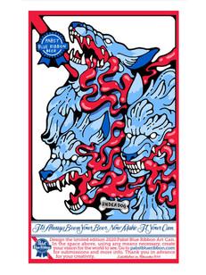 Pabst Blue Ribbon Beer Design Entry 2020