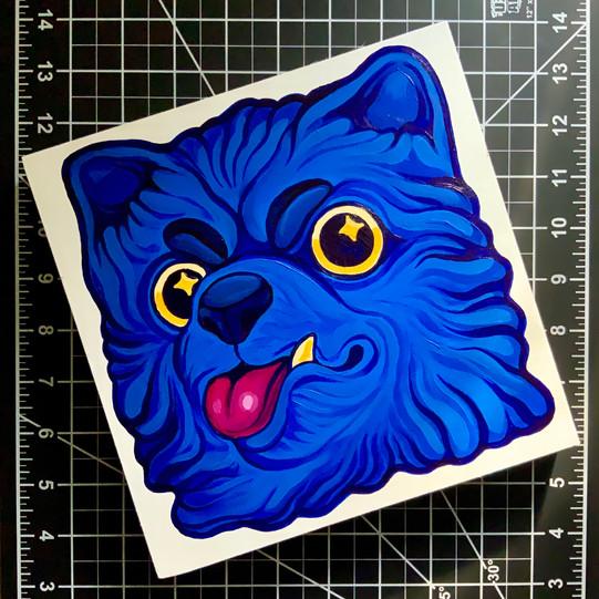 Acrylic Painting Pet Portrait