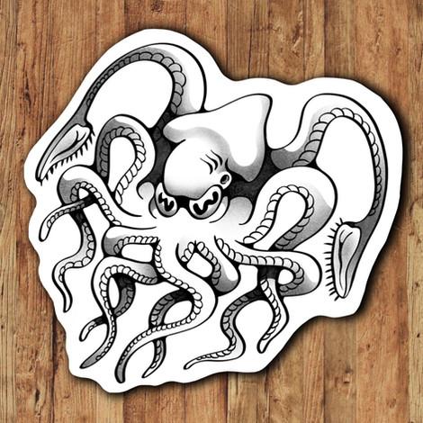 Octopus Tattoo Design