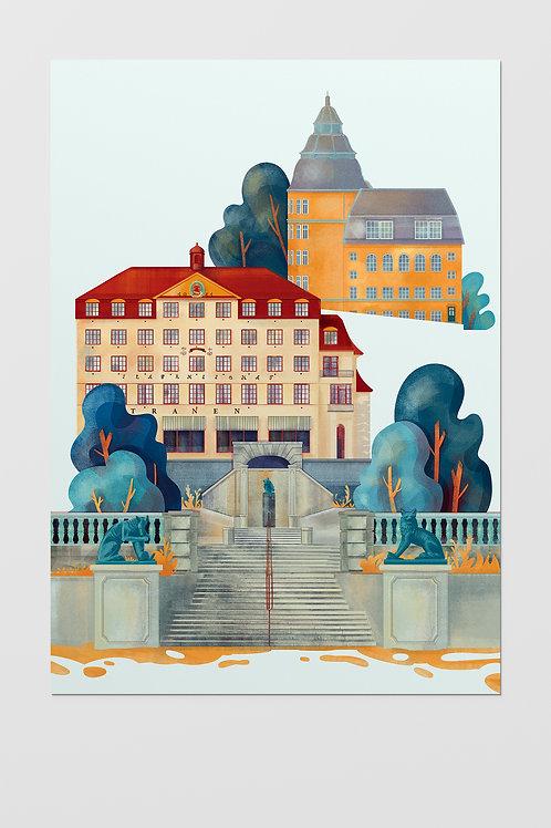 Oslo Ila Poster A3