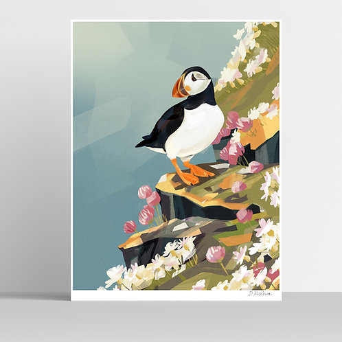Puffin Poster 31x41 cm
