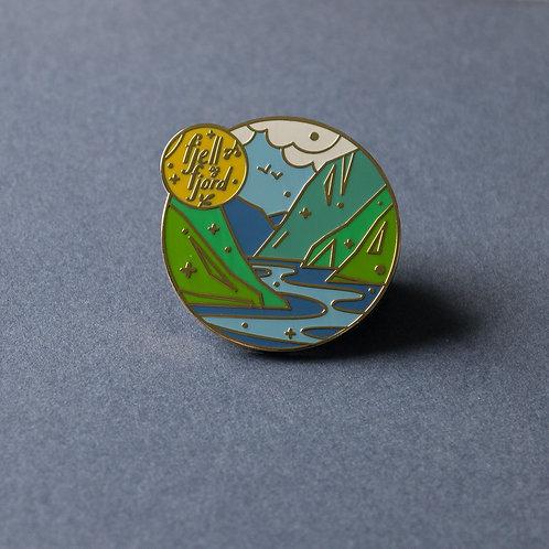 Fjell og fjord Pin