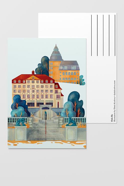 Oslo Postcards Set of Nine