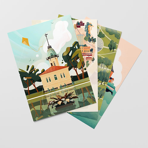 Oslo Postcards