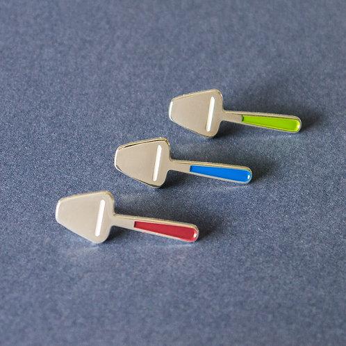 Ostehøvel (Cheese Knife) Pin