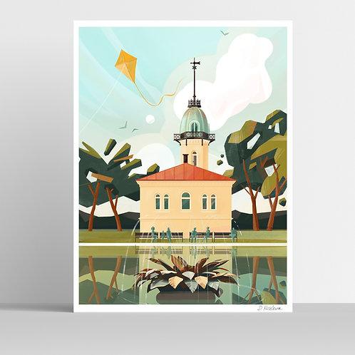 St. Hanshaugen Poster 31x41 cm