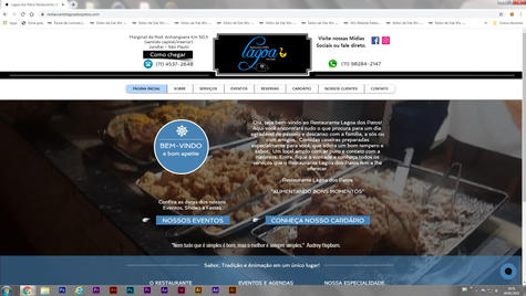 RESTAURANTE LAGOA DOS PATOS - Restaurante