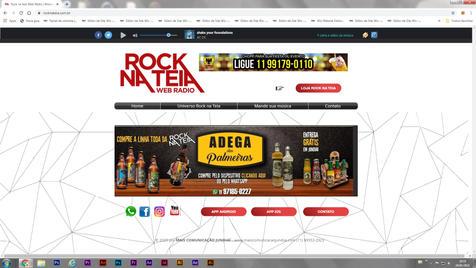 ROCK NA TEIA - Web Rádio