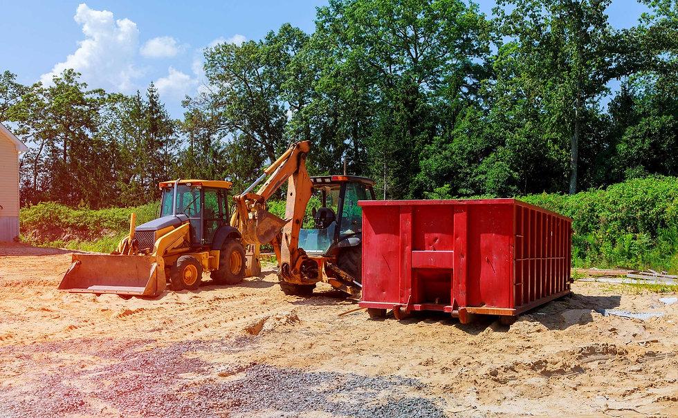 large-metal-skip-bin-for-hire-at-residen