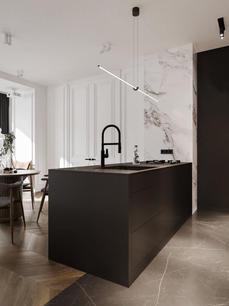 Bright and stylish apartment design __ c