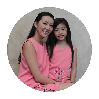 Angelic Eyes, Floral Embroidered Pink Dress, Mother daughter matching outfits