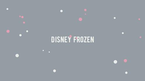 Disney Frozen Round Neck Flutter Sleeves Top & Bottom Sleepwear Set