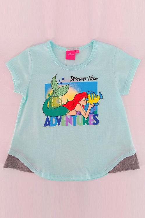 Disney Princess Ariel A-Line Graphic Tee DP-4246-08