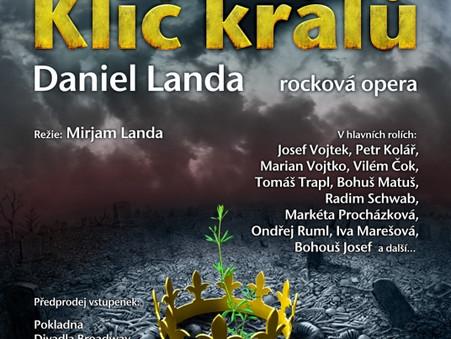 KLÍČ KRÁLŮ rocková opera