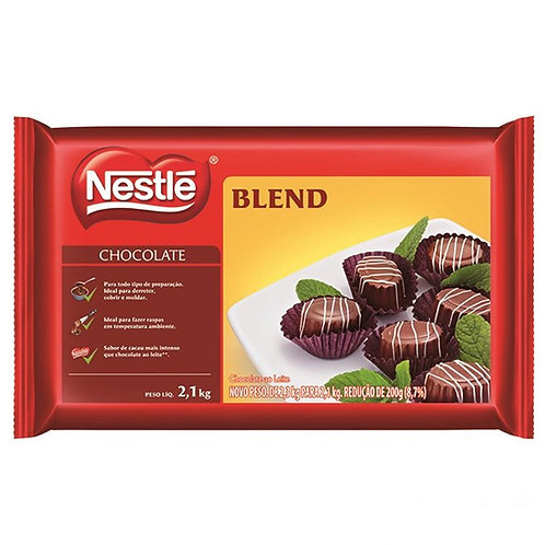 Chocolate Nestlé Blend em barra 2,1kg