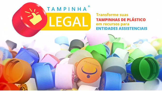 Sul Doce é posto de arrecadação da campanha Tampinha Legal