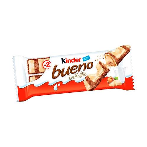 Kinder Bueno Chocolate Branco 39g - Leve 30 por R$ 4,90 cada