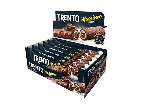 Wafer Trento Massimo Dark Display com 16 unidades Peccin