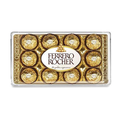 Chocolate Ferrero Rocher Display com 12 unidades