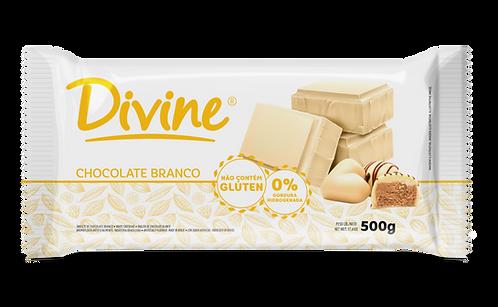 Chocolate Divine Branco em barra 500g