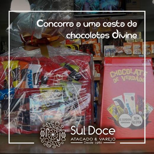 Concorra a uma cesta de chocolates Divine