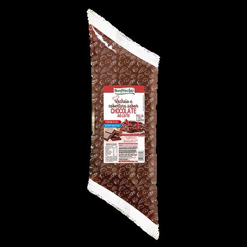 Recheio Forneável Bom Princípio Chocolate Ao Leite 1kg
