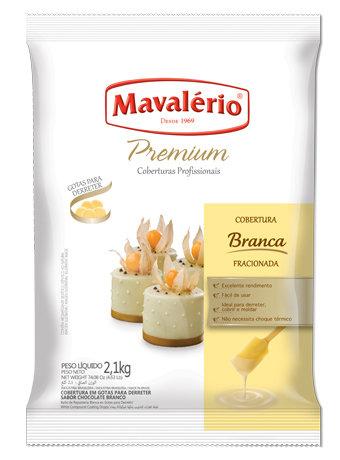 Cobertura Fracionada em Gotas Mavalério Premiun Branco 2,1kg