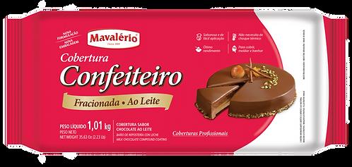 Cobertura Fracionada Mavalério Confeiteiro Ao Leite 1kg