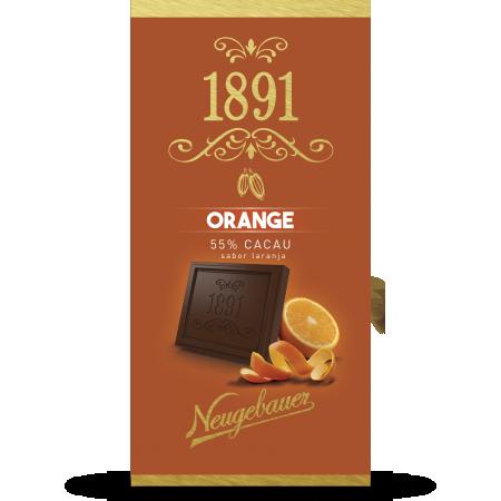 Chocolate 1891 Neugebauer Laranja 55% Cacau 90g
