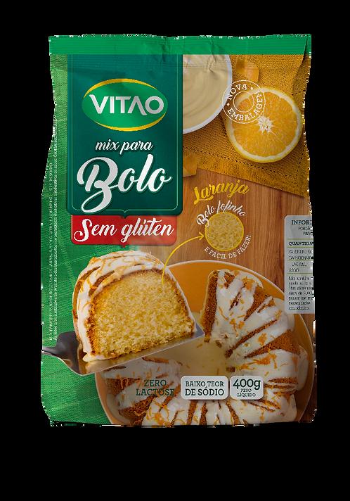 Mix para Bolo De Laranja Zero Lactose e Sem Glúten Vitao 400g