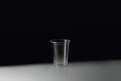 Copo Plástico 200ml Transp Copobras com 100un