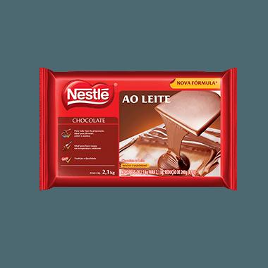Chocolate Nestlé Ao Leite em barra 2,1kg