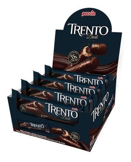 Display Wafer Trento Dark Display com 16 embalagens Peccin