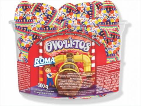 Ovolitos Chocolate Roma 600g