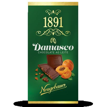 Chocolate 1891 Neugebauer Ao Leite com Damascoc 90g