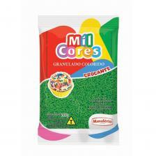 Açúcar Colorido Mil Cores Mavalério Verde 500g