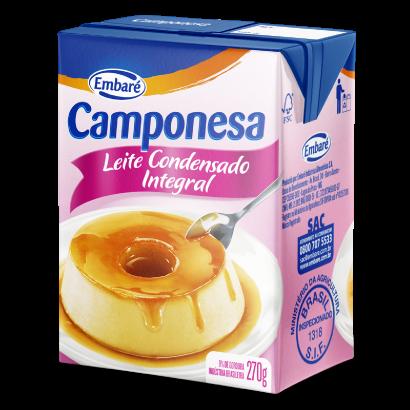 Leite Condensado Camponesa Embaré 270g