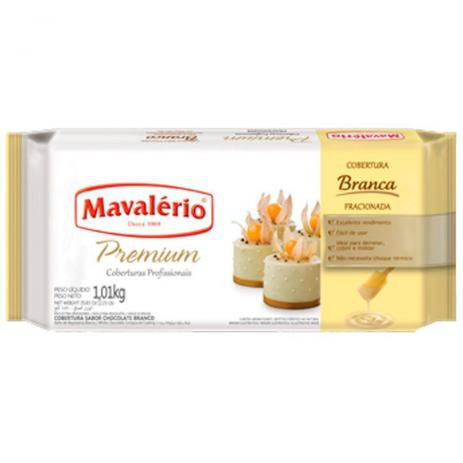 Cobertura Fracionada Mavalério Premiun Branco 1kg