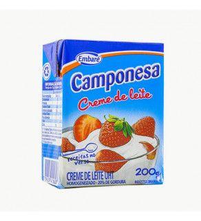 Creme de Leite Camponesa Embaré 200g