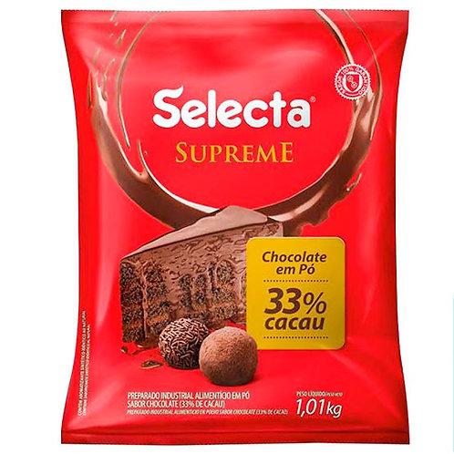 Chocolate em Pó 33% Cacau Selecta Namur 1kg