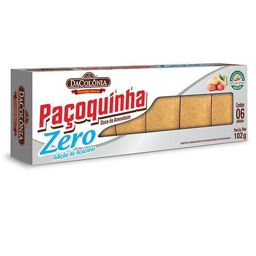 Paçoca Rolha Zero Açúcar Da Colônia 102g