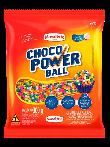 Choco Power Ball Micro Mavalério Colorido 300g