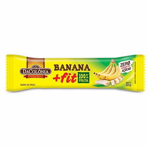 Barrinha De Cereal Banana Fit Zero Açúcar Da Colônia 22g