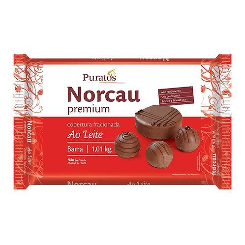 Cobertura Fracionada Chocolate Premium Ao Leite - Barra 1,01kg PURATOS